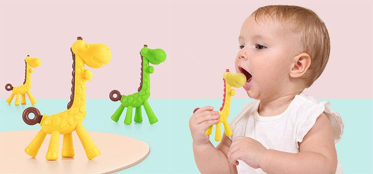 Happy Baby Giraffe Teether