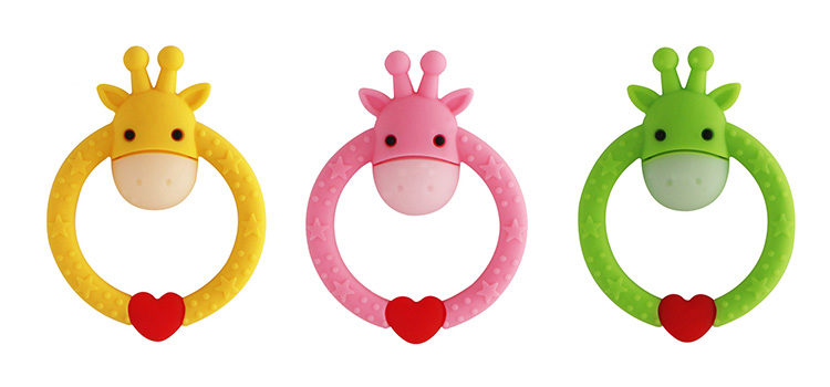 Happy Baby Daisy the Cow Teething Ring