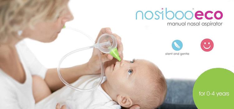 Nosiboo Baby Nasal Aspirator Eco